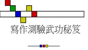 寫作測驗武功秘笈