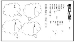 語文學習單-像什麼