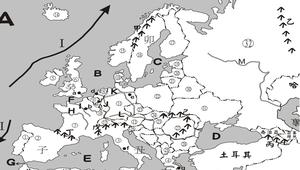 歐洲地理填圖