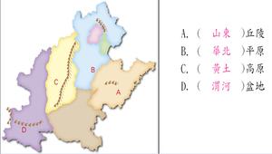 中國地理北部地區:華北、東北