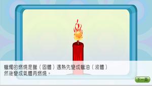 化學-空氣與燃燒-蠟燭是怎樣燃燒的