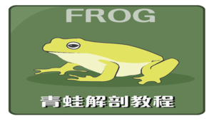 青蛙外部及內部型態觀察與解剖操作實驗VR教材