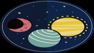 太陽系大發現(日心、月相、星座)